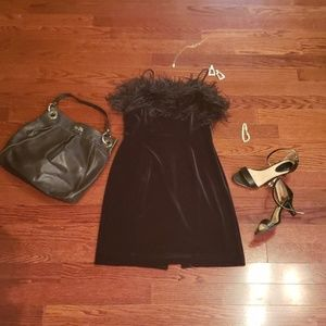 Size 10 ALEX Evenings Black Dress